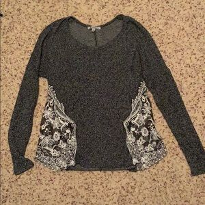 Women's Top with Lace Detail